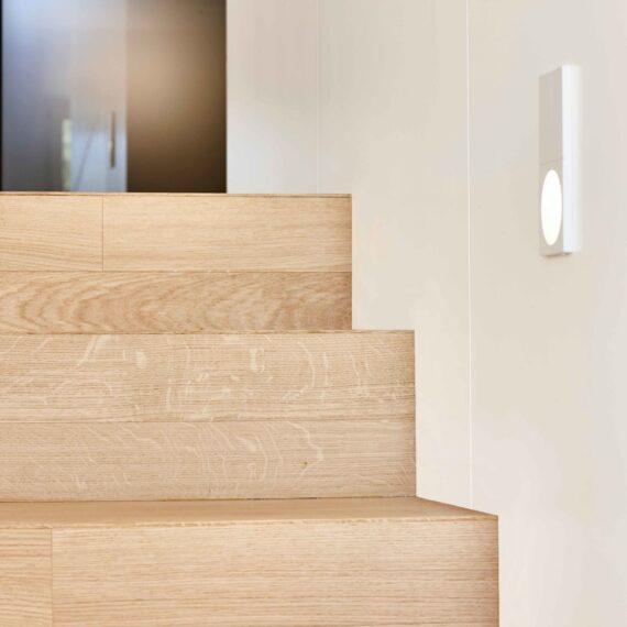 dettaglio scale parquet rovere 2 strati collezione classica